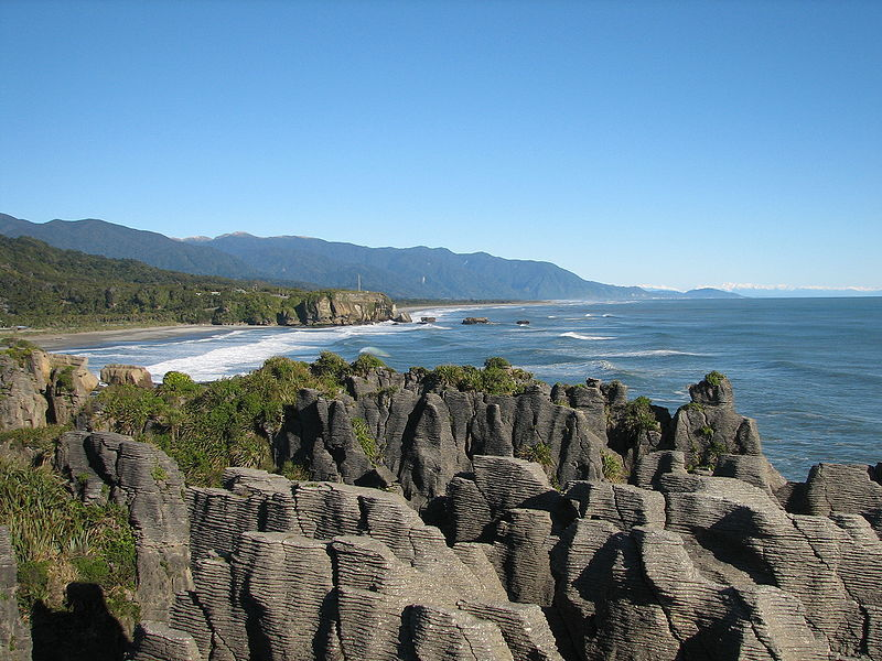 Pancake Rocks in New Zealand - Pancake Rocks