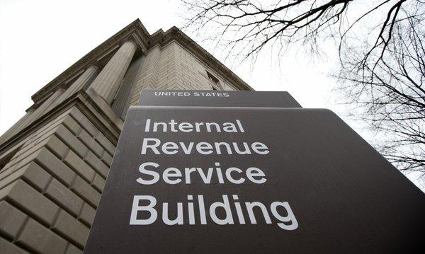 Internal Revenue Service headquarters in Washington.