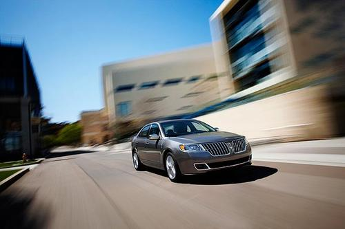 The 2011 Lincoln MKZ Hybrid has a 2.5-liter gas-electric drivetrain. It gets 41 miles per gallon in the city and 36 mpg on the highway.