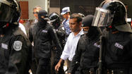 Unrest erupted Tuesday in the Maldives after its former president was arrested, the latest turn in a disputed case that his backers say is meant to stop him from campaigning for reelection.