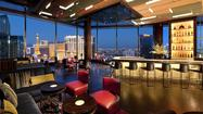 The best view in Vegas? Mandarin Bar at the Mandarin Oriental.