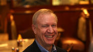 Wealthy Chicago businessman Bruce Rauner moved a step closer Tuesday toward a potential bid for the Republican governor nomination, filing papers to form an exploratory committee and launching a 60-day listening tour of the state.