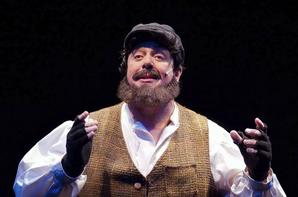 David Bosley-Reynolds  in 'Fiddler on the Roof'