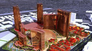 Resorts World Las Vegas, the city's first new mega-resort in six years and scheduled to open in 2016, will have such Asian influences as a replica of the great Wall of China and a panda preserve.