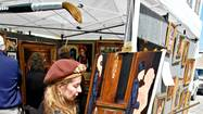 LEESBURG — Low temperatures and a windy Saturday didn't slow down art lovers at this weekend's 36th Annual Leesburg Art Festival.