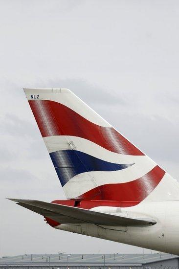 British Airways (its logo shown here is on a 747) will offer A380 service from LAX to London starting in October.