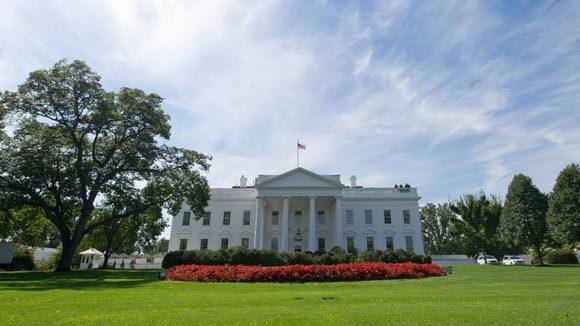 The north side of the White House is seen in this September 20, 2012 file photo in Washington, D.C.