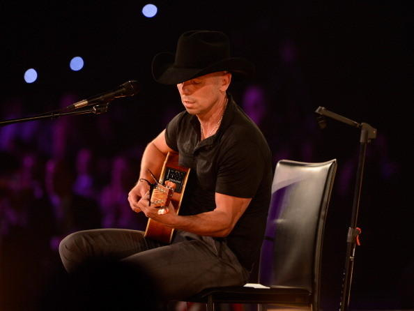 LOS ANGELES, CA - FEBRUARY 08:  Kenny Chesney performs onstage at MusiCares Person Of The Year Honoring Bruce Springsteen at Los Angeles Convention Center on February 8, 2013 in Los Angeles, California.  (Photo by Kevin Mazur/WireImage)