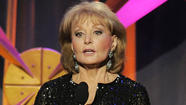 Barbara Walters got chicken pox from smooching Frank Langella