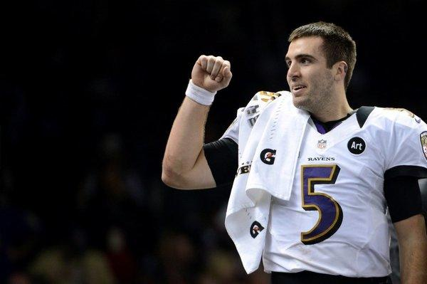 Joe Flacco buys Chicken McNuggets after signing his $120-million NFL deal.