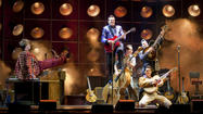 "<span>""Million Dollar Quartet"" is set on a single night in 1956, when an extraordinary twist of fate brought Johnny Cash, Jerry Lee Lewis, Carl Perkins and Elvis Presley together at Sam Phillips' Sun Records storefront studio in Memphis. The evening would become legendary as one of the greatest rock 'n' roll jams in history. The songbook is big fun that includes ""Ring of Fire,"" ""Blue Suede Shoes,"" ""Walk the Line,"" ""Who Do You Love?,"" ""Great Balls of Fire,"" ""Folsom Prison Blues,"" ""Fever,"" ""Whole Lotta Shakin' Goin' On"" and ""Hound Dog."" </span>"