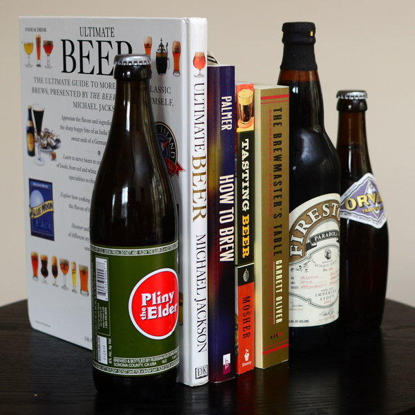 "If you're intrigued by exploring the possibilities of food-and-beer pairings, ""The Brewmaster's Table"" by Brooklyn Brewing's brewmaster Garrett Oliver is a good place to start."