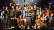 """Rock of Ages"" - the full Vegas cast"