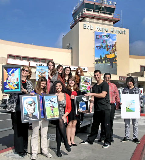 Bob Hope Airport features student artwork