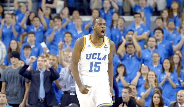 Shabazz Muhammad leads UCLA in scoring with 18.3 points per game.