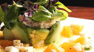 Dungeness crab with avocado at Emeril Lagasse's Table 10