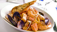 Rick Moonen-style cioppino at RM Seafood