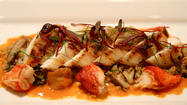 Rick Moonen's cobia at RM Seafood