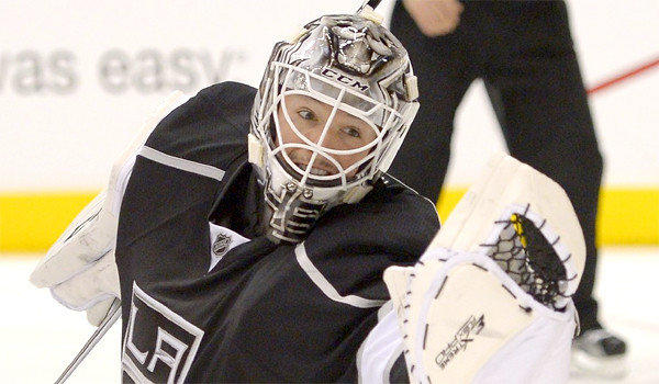 Jonathan Bernier will get the start for the Kings against the St. Louis Blues on Tuesday night as L.A. goes for its sixth consecutive home win.