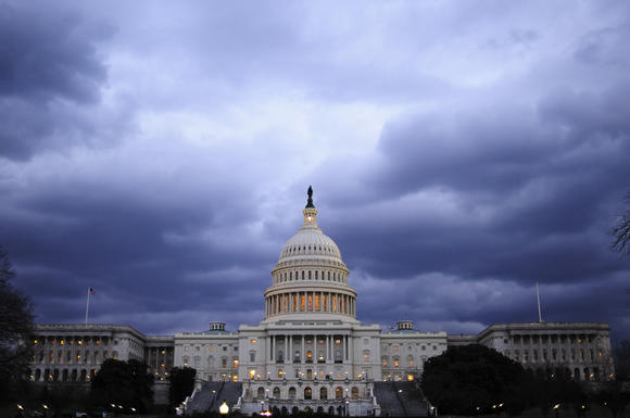 Views Of The U.S. Capitol As Sequestration Deadline Looms