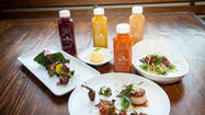 "<a href=""http://www.cloverjuice.com"">Clover</a>, which debuted its first juice bar on La Brea in January, is now opening a take-away window at the Churchill on West 3rd Street (look for a Clover awning on the east side of the restaurant)."