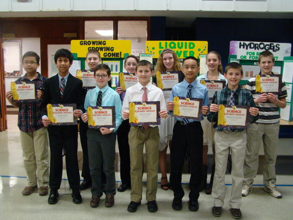 St. Scholastica Students Participate in Science Fair; 20 Advance to Regional Competition