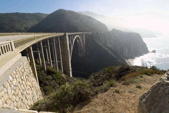 Bixby Creek Arch Bridge, Cabrillo Highway