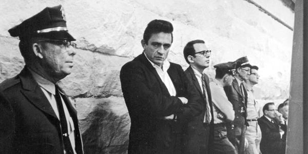 Robert Hilburn and Johnny Cash