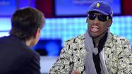 It is really not so odd that we would find Dennis Rodman partying heartily with North Korea's Kim Jong Un. After all, they have so much in common. Think of Kim as Rodman with less height, fewer piercings, more nuclear menace — and more blood on his hands.