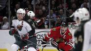 Blackhawks 5, Wild 3