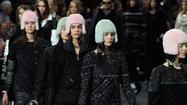 PARIS -- When it comes to the world of luxury fashion, Chanel is the universal language. That was the message at the Chanel fall 2013  show held Tuesday morning at Paris Fashion Week, where Karl Lagerfeld's latest, greatest piece of runway scenery under the ornate glass ceiling of the Grand Palais was a gigantic, rotating globe with tiny Chanel flags planted wherever the brand is sold, which is pretty much everywhere judging from the map, except for Africa, Greenland, New Zealand and some other places.