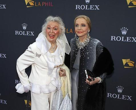 "The opening of the Los Angeles Philharmonic season is a red-letter day on the city's cultural and social calendars. This year, that was Oct. 7. The film and TV worlds converge in the appearance of Ann Rutherford (""Gone With the Wind""), left, and Anne Jeffreys (""Topper"")."