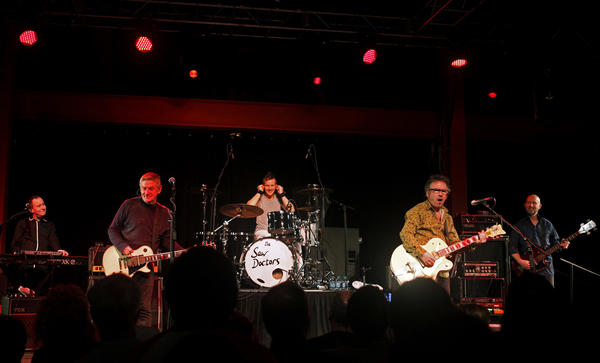 The Saw Doctors perform at Musikfest Cafe in Bethlehem on March 5.
