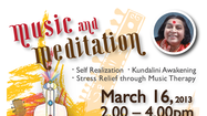 Sahaja Meditation is proud to present  music and meditation session in Schaumburg on Sunday March 17. Sahaja Meditation is a simple, time honored technique that is easy to learn. It helps reduce stress and increase wellness. It brings better focus and helps people becomes centered and better balanced. Anyone can do it. Try it. Its free.