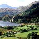 The rugged highlands of Snowdonia.