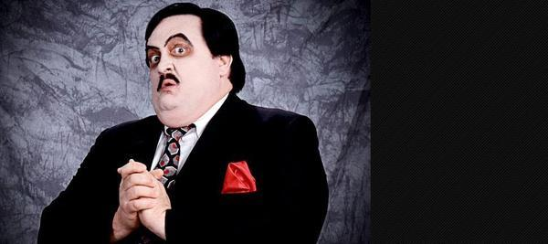 "Bill Moody as ""Paul Bearer."""
