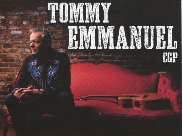 Music for a live Tommy Emmanuel DVD was recorded by Kim Person of York County.