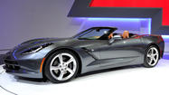 Chevy's Corvette Stingray convertible debuts in Geneva