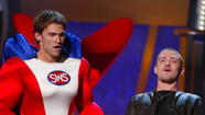 Hosting the 2003 MTV Movie Awards with Seann William Scott