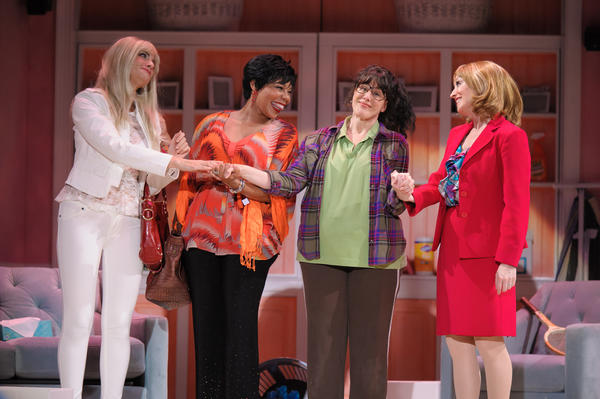 "The cast of ""Divorce Party: The Musical"" at the El Portal includes, from left, Samara Dunn, Soara-Joye Ross, Janna Cardia and Mary Jayne Waddell."