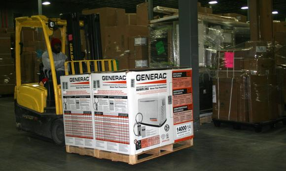 Moving generators