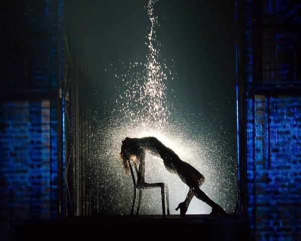 "Emily Padgett as Alex in ""Flashdance - The Musical."""