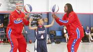 Globetrotters visit 11-year-old