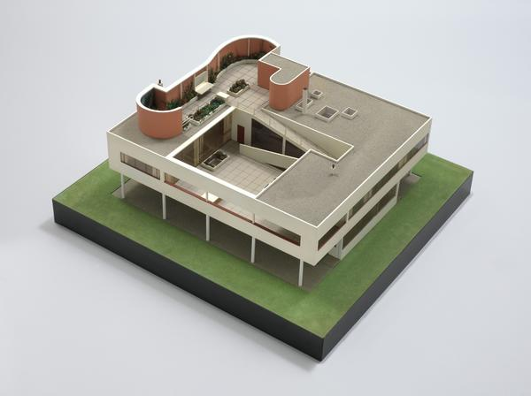 Model of the Villa Savoye, Poissy. 1928-31