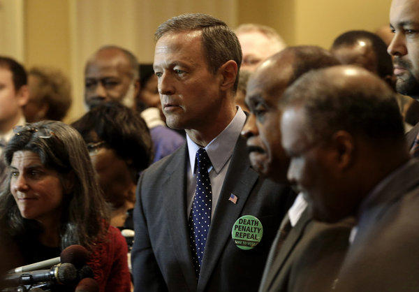 Maryland Gov. Martin O'Malley at a January rally in support of repealing the state's death penalty. O'Malley argues that the death penalty is a waste of resources that could be better used to fight crime in more productive ways.