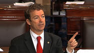 "<span class=""runtimeTopic"">WASHINGTON</span> -- In a rare, traditional filibuster, Sen. Rand Paul vowed to speak on the Senate floor ""as long as it takes"" to draw attention to his concerns about the Obama administration's policy regarding the targeted killing of American terrorism suspects."