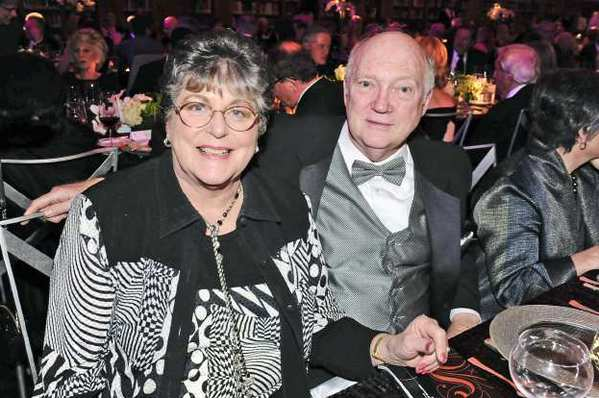 Sue and Jim Stoddard of La Canada Flintridge attend the Scripter Award ceremony.