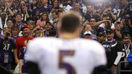 Joe Flacco will need every bit of his Joe Cool persona next season.