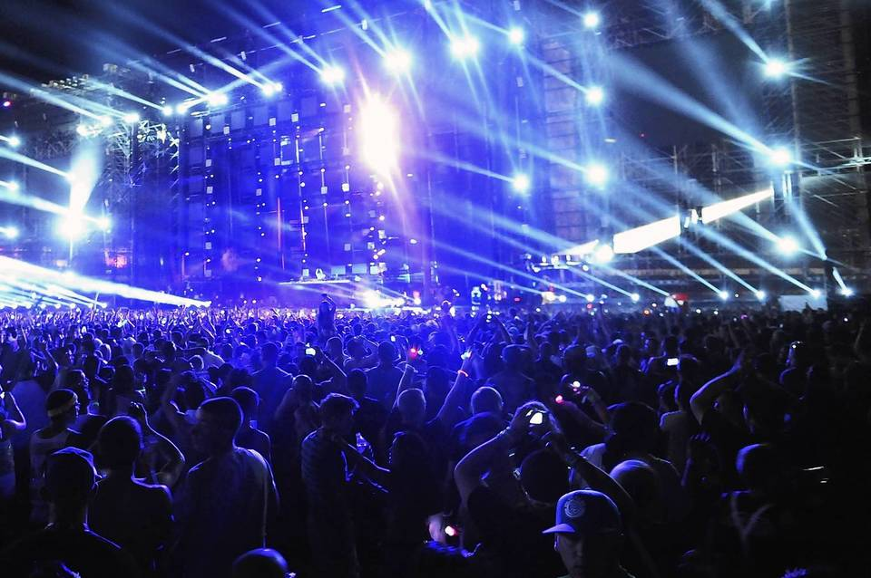 The Electric Daisy Carnival at Las Vegas Motor Speedway in 2011.