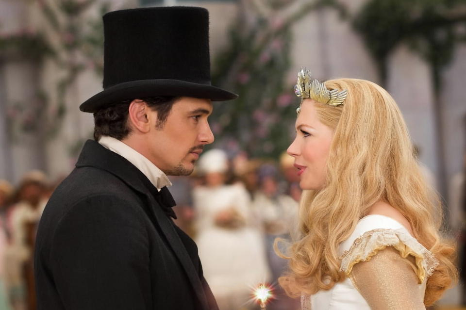 """James Franco and Michelle Williams star in """"Oz the Great and Powerful."""""""